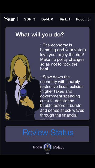 Econ Policy 101 screenshot 3