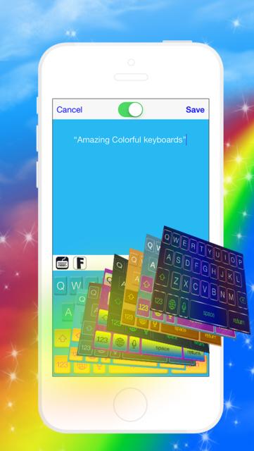 Swipe & Type Keyboards & Color Keyboards To Cool Fonts screenshot 2