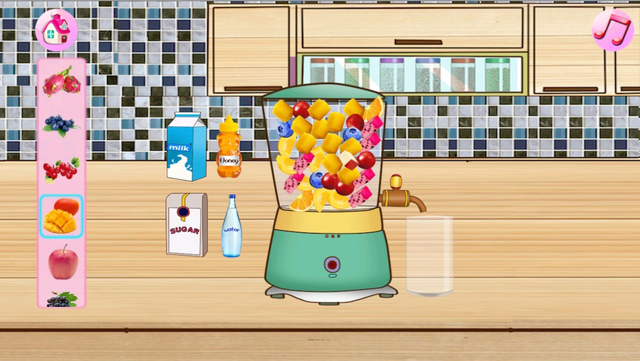 Cream Cake Maker:Cooking Games For Kids-Juice,Cookie,Pie,Cupcakes,Smoothie and Turkey & Candy Bakery Story! screenshot 3