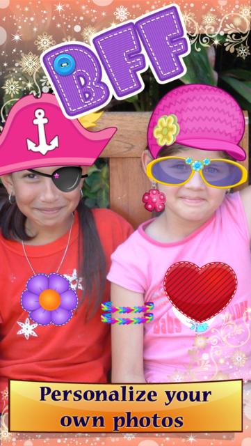 My Little Princess Photo Booth- Fairy tale dress up editor for girls screenshot 2