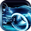 3D Neon Street Bike Racing Madness Pro