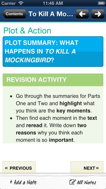 To Kill A Mockingbird York Notes GCSE screenshot 3