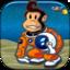 A King Space Monkey Assault Kingdom Flight Shooter Game Pro