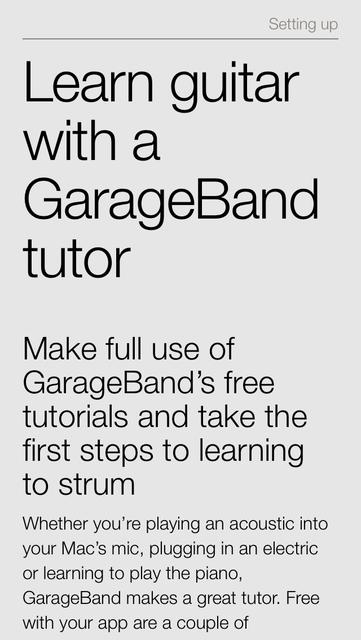 Complete Manual: GarageBand Edition screenshot 1