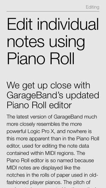 Complete Manual: GarageBand Edition screenshot 3