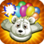 Arctic Zoo White Bear Flying Game Pro