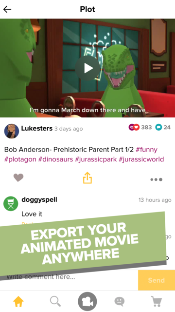 Plotagon Story screenshot 8
