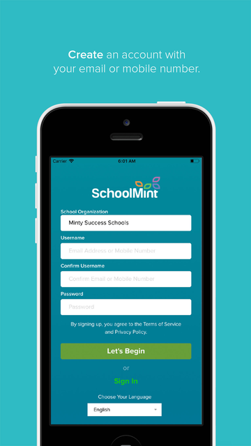 SchoolMint screenshot 1