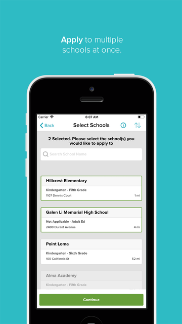 SchoolMint screenshot 2