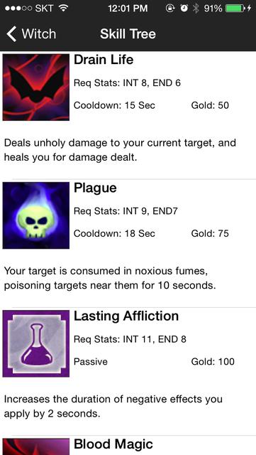 Guide for Battleheart Legacy - skill tree, tutorial, tips, hidden characters screenshot 1