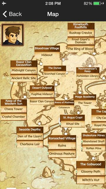 Guide for Battleheart Legacy - skill tree, tutorial, tips, hidden characters screenshot 5
