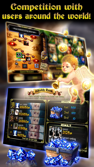 Goddess Slots - Online Multiplayer screenshot 2