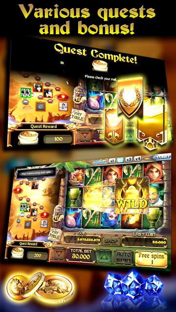 Goddess Slots - Online Multiplayer screenshot 3