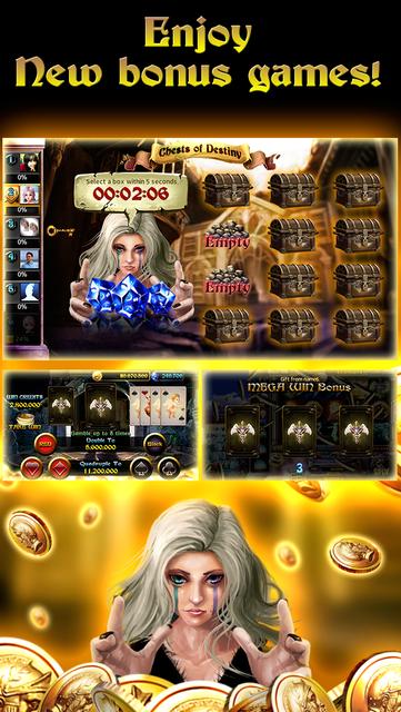 Goddess Slots - Online Multiplayer screenshot 4