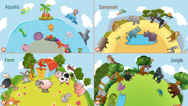 82 Kids Puzzles Learn Animals screenshot 4