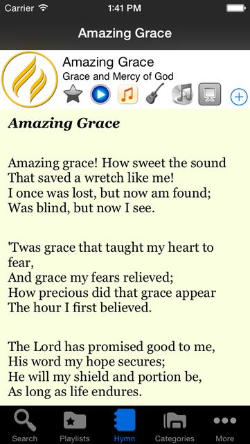 The Advent Hymnal screenshot 2