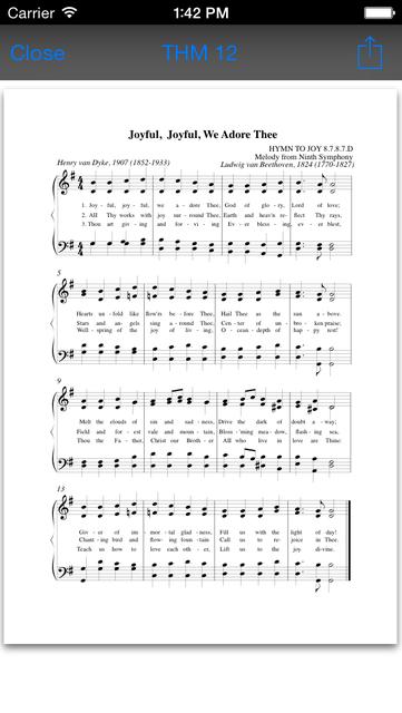 The Advent Hymnal screenshot 3