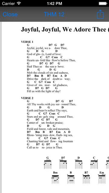 The Advent Hymnal screenshot 4