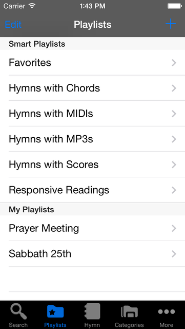 The Advent Hymnal screenshot 5