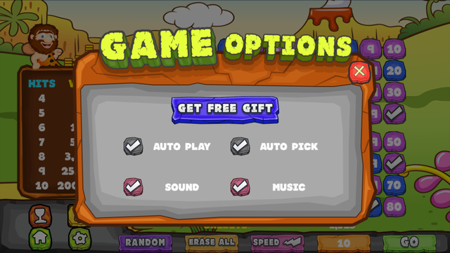 Caveman Keno Casino FREE - Double Bonus Fun with Game screenshot 4