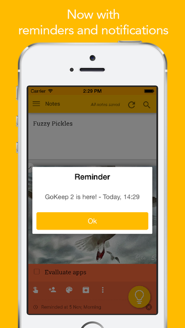About: GoKeep for Google Keep (iOS App Store version) | GoKeep for