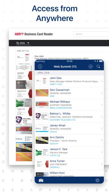 Business Card Reader screenshot 6