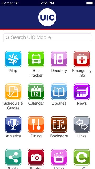 UIC Mobile screenshot 1