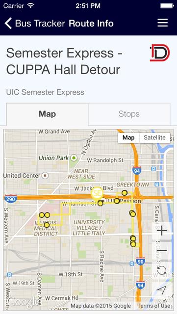 UIC Mobile screenshot 2