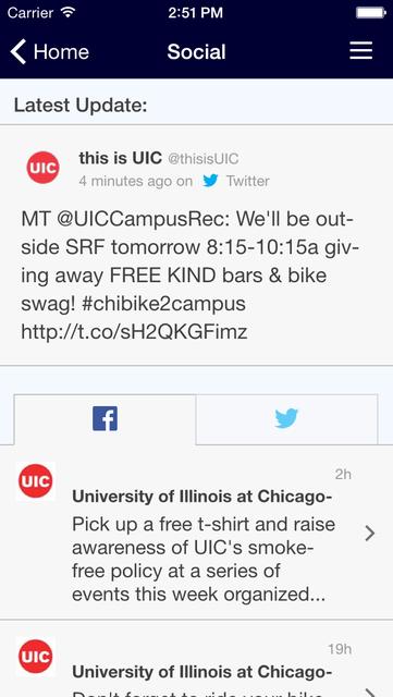 UIC Mobile screenshot 3