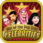Addictive Celebrity Game with a candy crush style game. Make sure to be a HIT!!!