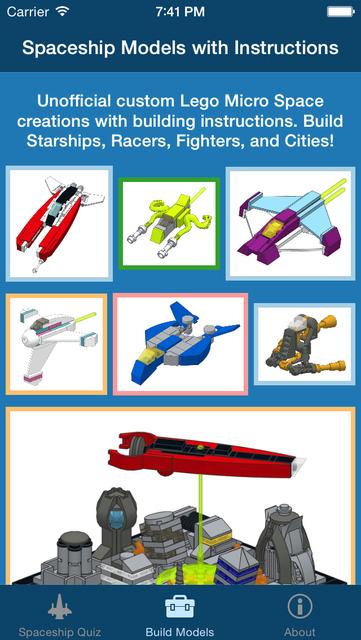 BrickSpace - Micro Spaceships screenshot 1