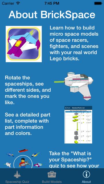 BrickSpace - Micro Spaceships screenshot 5