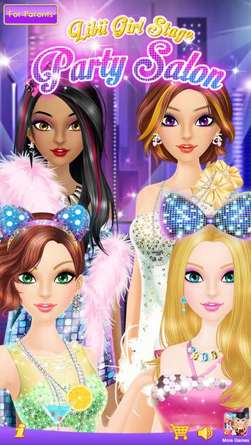 Party Salon - Girls Makeup & Dressup Games screenshot 6