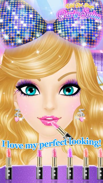 Party Salon - Girls Makeup & Dressup Games screenshot 7