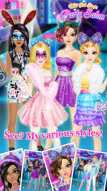 Party Salon - Girls Makeup & Dressup Games screenshot 13