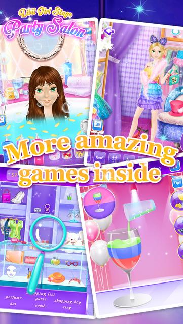 Party Salon - Girls Makeup & Dressup Games screenshot 15