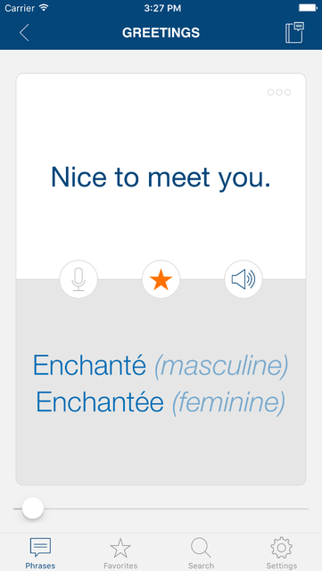 Learn French Phrases Pro screenshot 3
