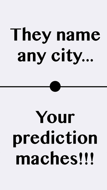 City Prediction screenshot 4