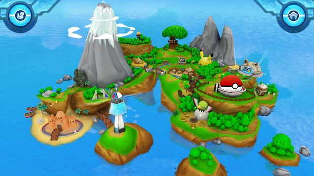 Camp Pokémon screenshot 1