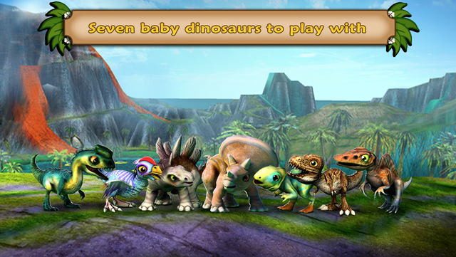 Dino Tales – literacy skills from creative play screenshot 1
