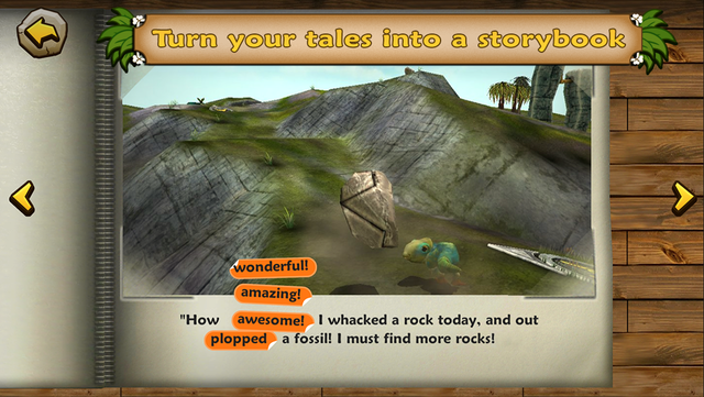 Dino Tales – literacy skills from creative play screenshot 5