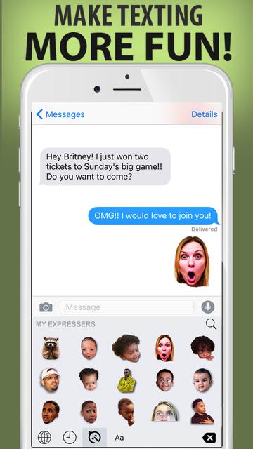 Expresser - Create Personalized Stickers & Emojis screenshot 1