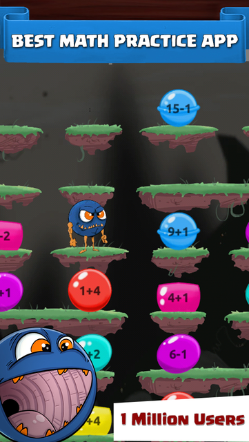 Monster Math : Kids Fun Games screenshot 1