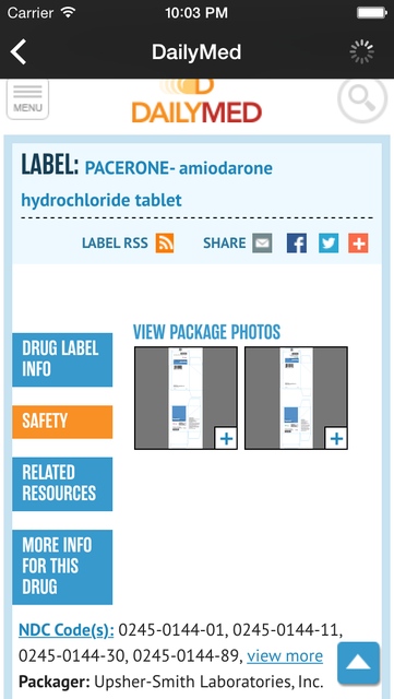 Drug Cards - Reference and Quiz screenshot 3