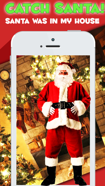 Catch Santa in your House - Christmas Cam Pro screenshot 1