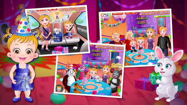 Baby Hazel Birthday Party by BabyHazelGames screenshot 3