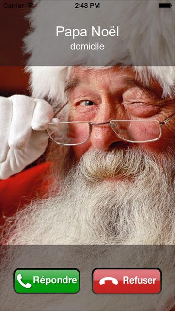Le Papa Noël t'appelle screenshot 3