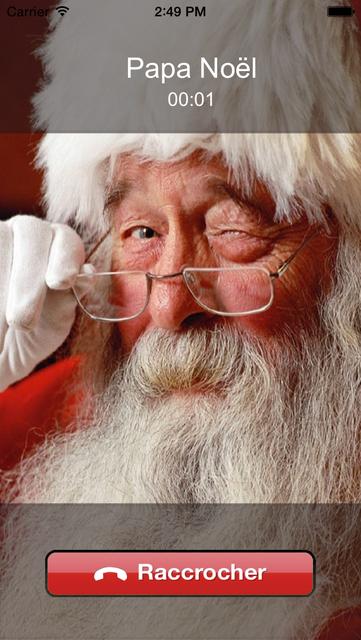Le Papa Noël t'appelle screenshot 4