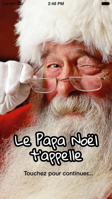 Le Papa Noël t'appelle screenshot 1
