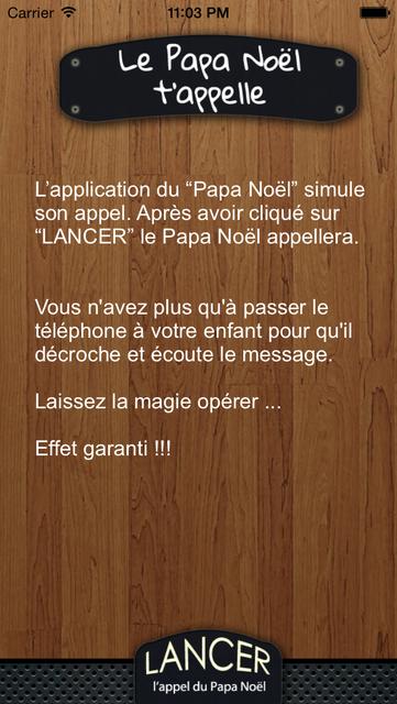 Le Papa Noël t'appelle screenshot 2